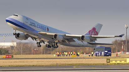 B-18717 - China Airlines Cargo Boeing 747-400F, ERF