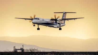 JA858A - ANA - All Nippon Airways de Havilland Canada DHC-8-400Q / Bombardier Q400