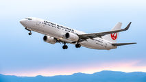JA340J - JAL - Japan Airlines Boeing 737-800 aircraft