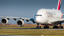 A6-EUM - Emirates Airlines Airbus A380 aircraft