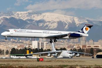 EP-CPZ - Caspian Airlines McDonnell Douglas MD-83