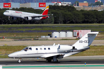 OO-CEJ - Air Service Liege Cessna 525 CitationJet