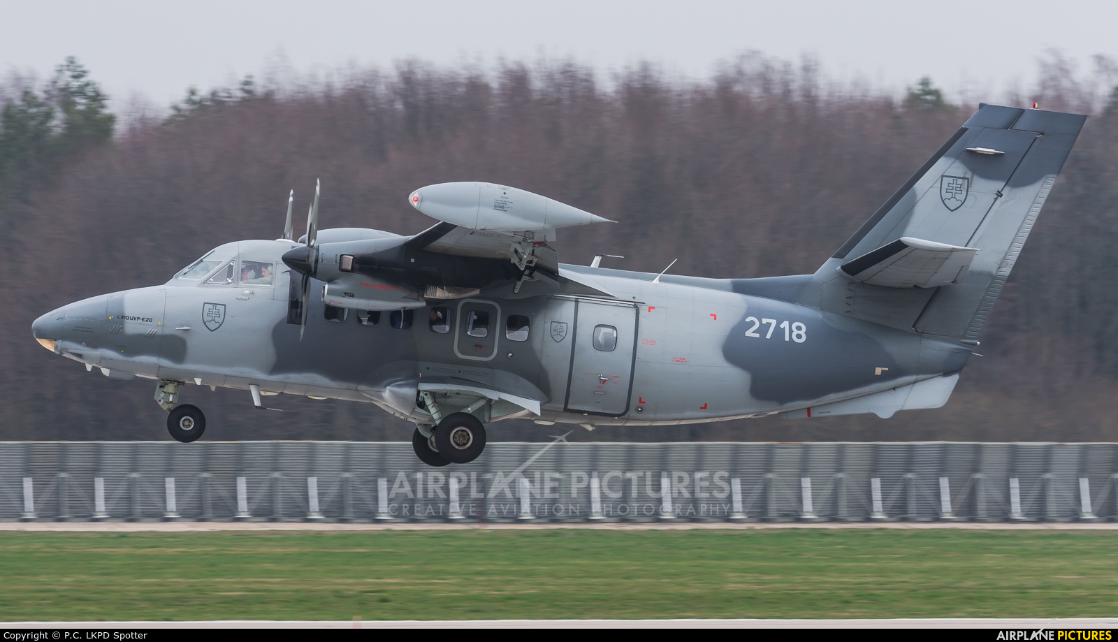 Slovakia -  Air Force 2718 aircraft at Pardubice