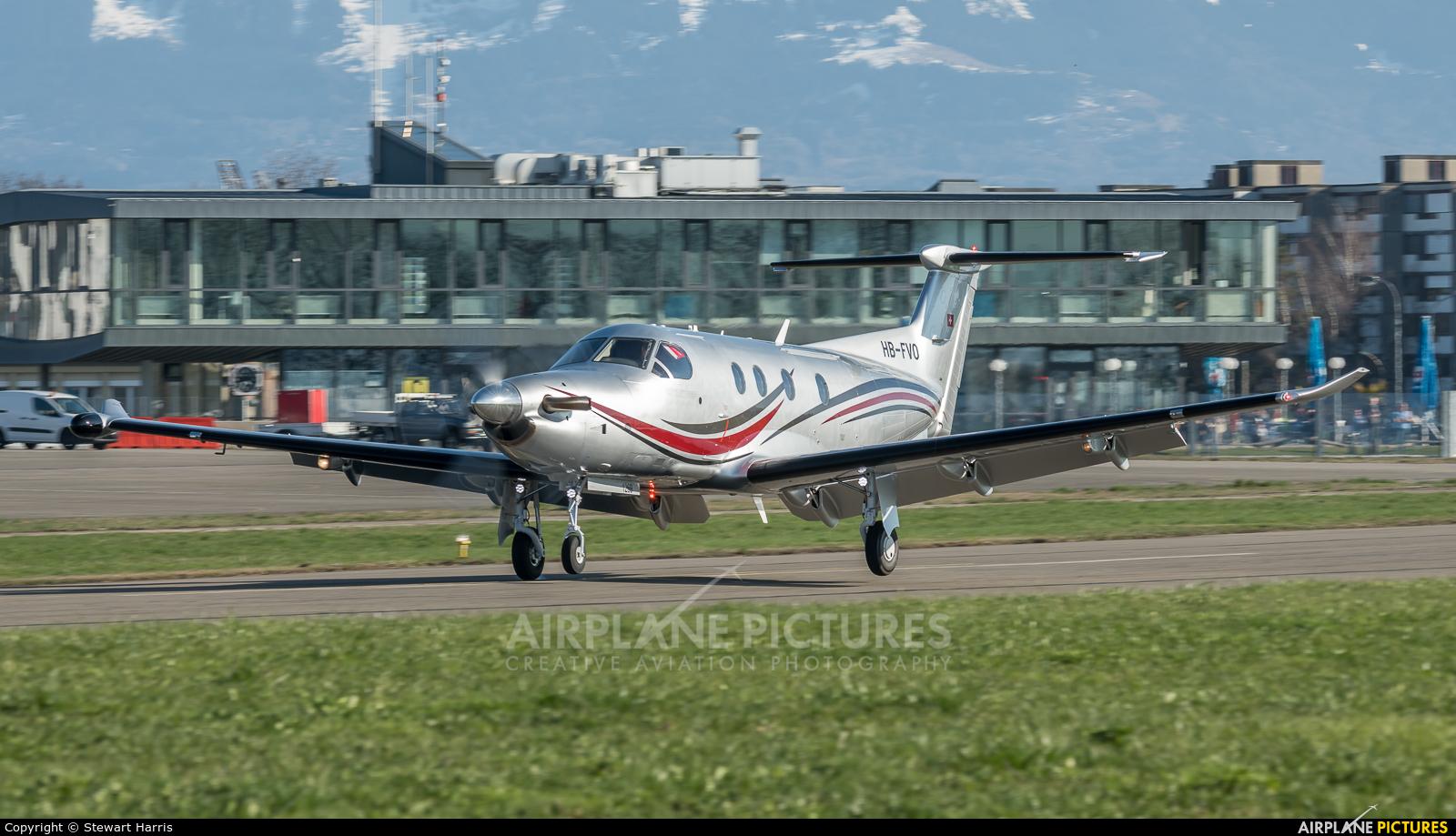 Private HB-FVO aircraft at Lausanne - La Blécherette