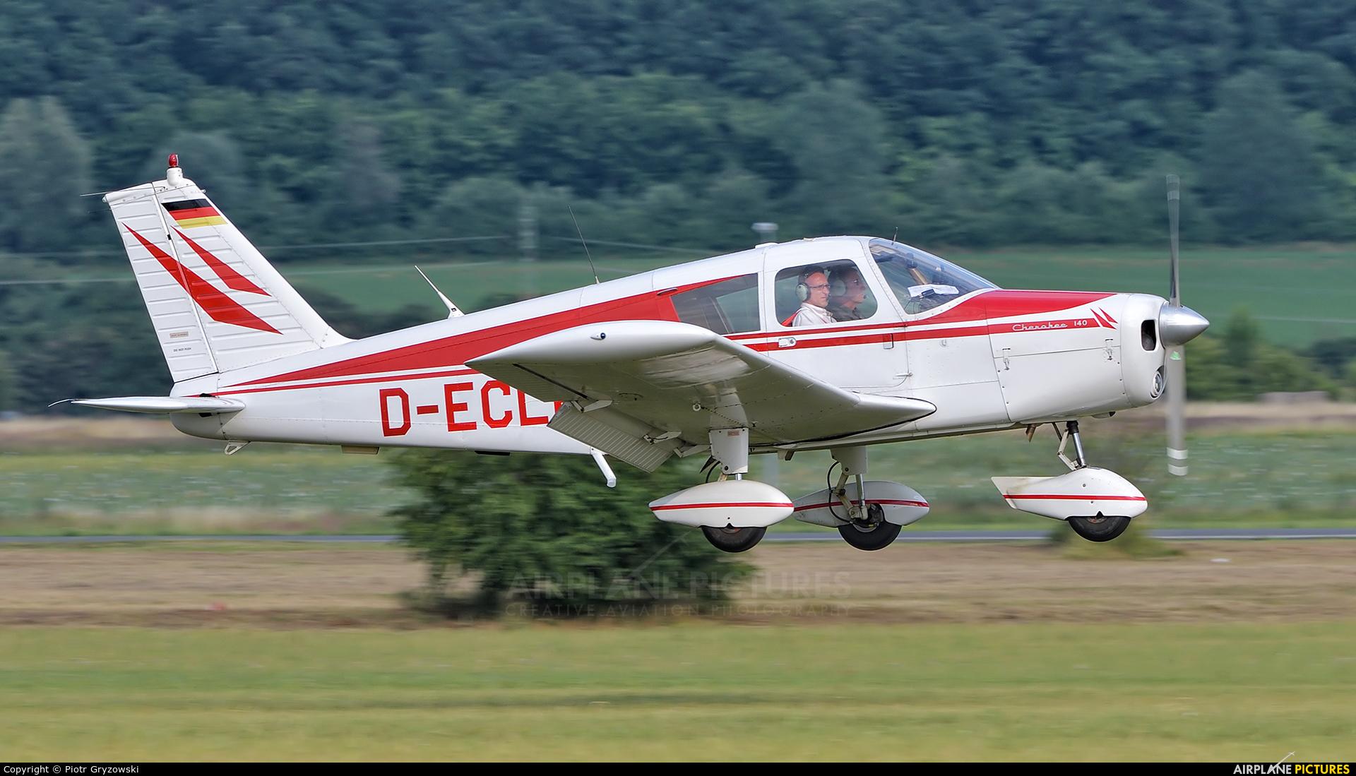 Private D-ECLR aircraft at Mladá Boleslav