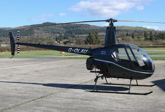 G-OLAU - Private Robinson R22