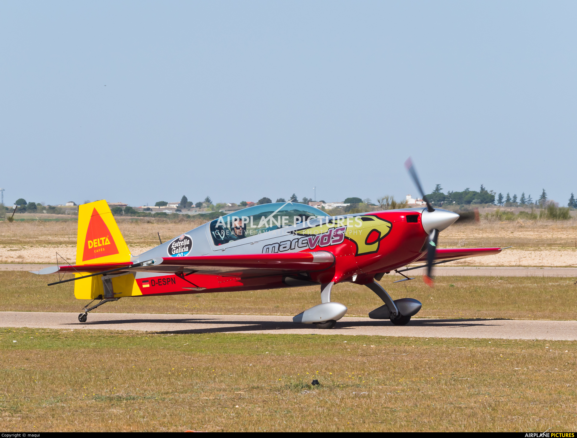 Private D-ESPN aircraft at Casarrubios del Monte