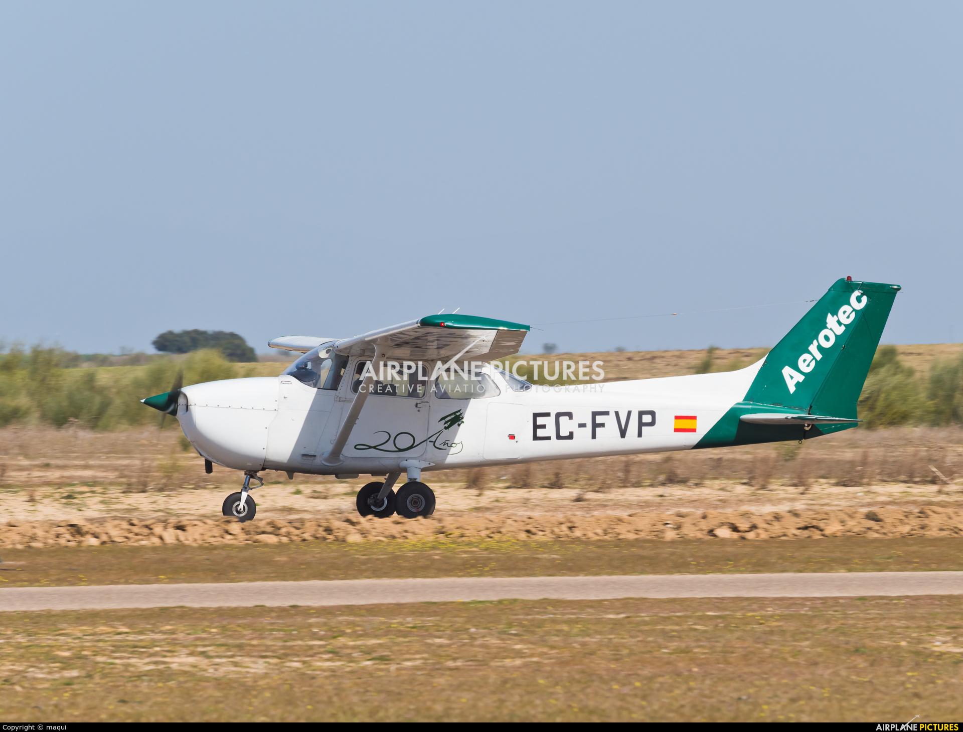 Aerotec Flight Training EC-FPV aircraft at Casarrubios del Monte