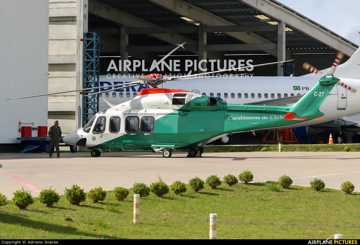 Chile - Police C-27 aircraft at Curitiba -  Afonso Pena