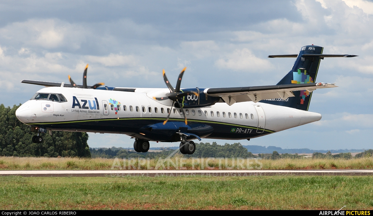 Azul Linhas Aéreas PR-ATV aircraft at Municipal Airport Cascavel