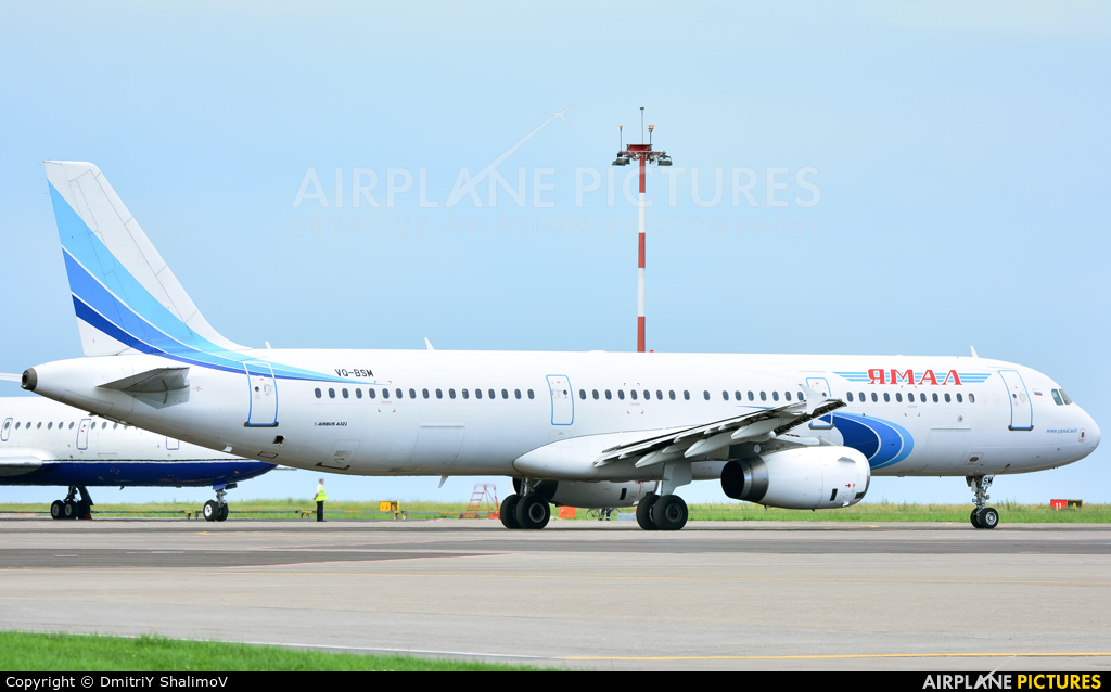 Yamal Airlines VQ-BSM aircraft at Belgorod Intl