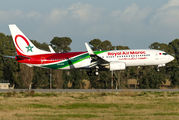 CN-ROS - Royal Air Maroc Boeing 737-800 aircraft