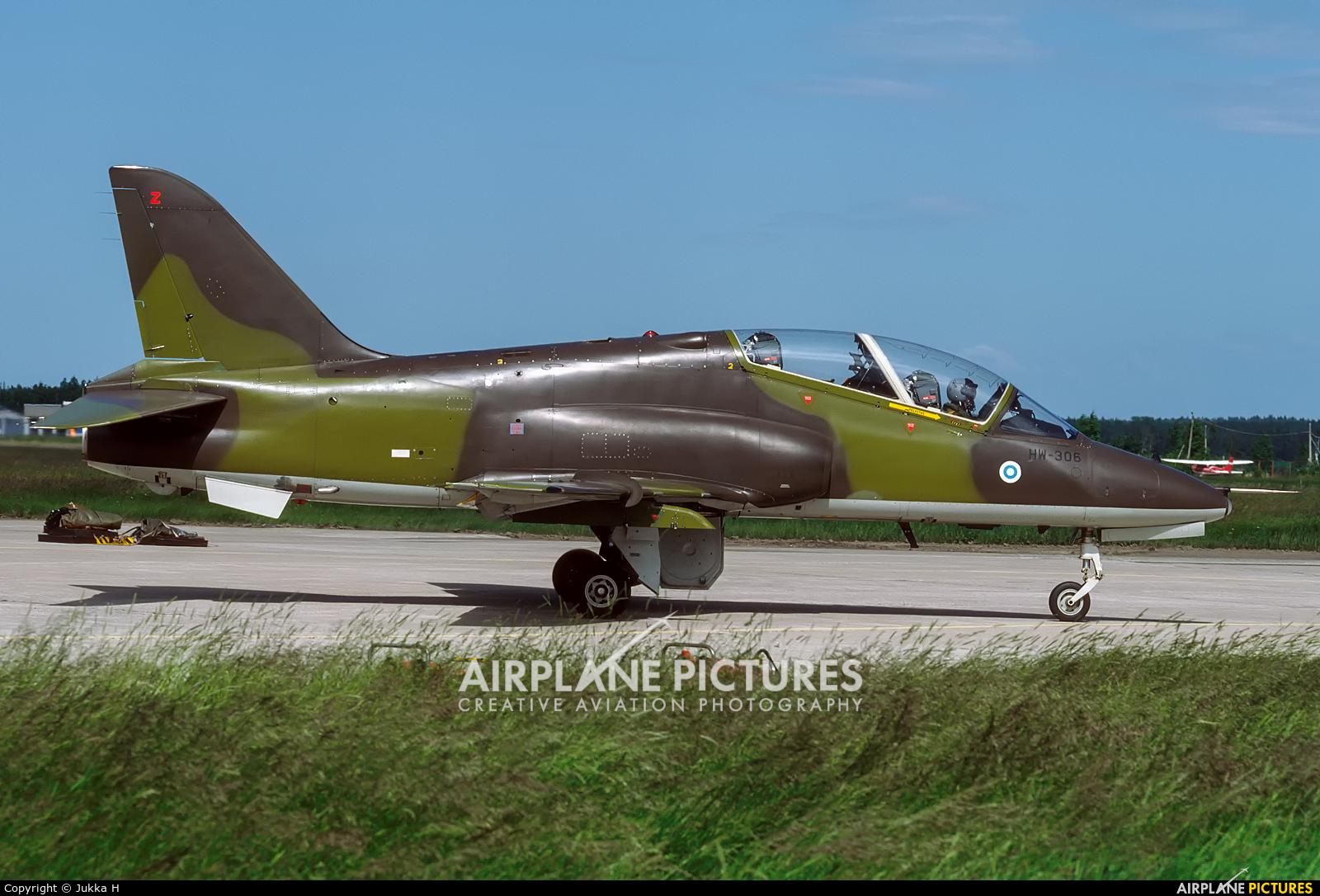 Finland - Air Force: Midnight Hawks HW-306 aircraft at Kauhava
