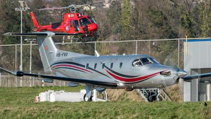 HB-FVO - Private Pilatus PC-12