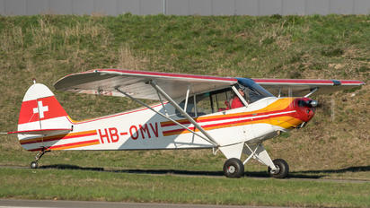 HB-OMV - Private Piper PA-18 Super Cub