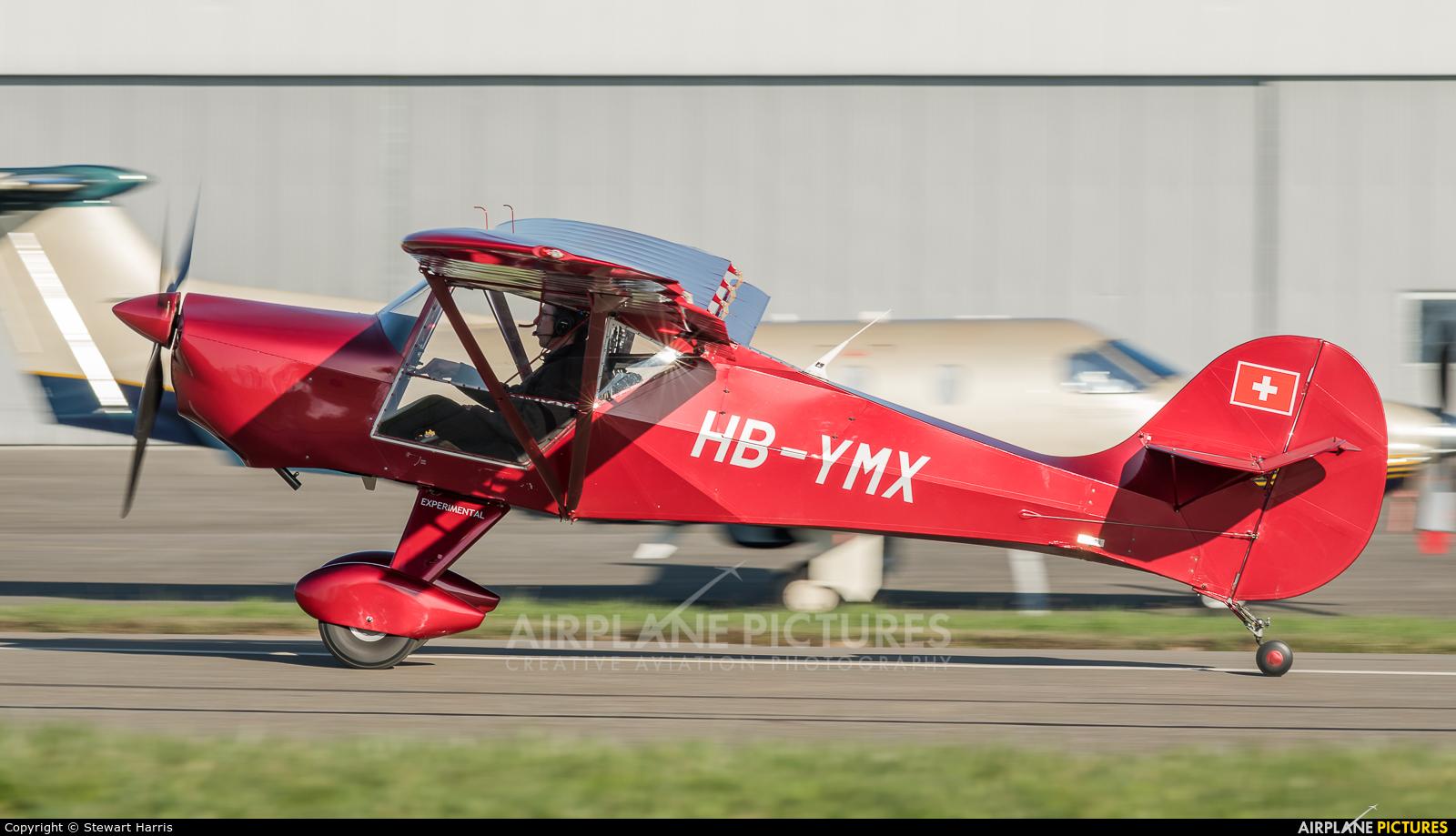 Private HB-YMX aircraft at Lausanne - La Blécherette