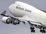 N575UP - UPS - United Parcel Service Boeing 747-400F, ERF aircraft