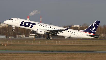 SP-LMA - LOT - Polish Airlines Embraer ERJ-190 (190-100)