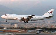 EP-FAB - Qeshm Fars Air Boeing 747-200F aircraft