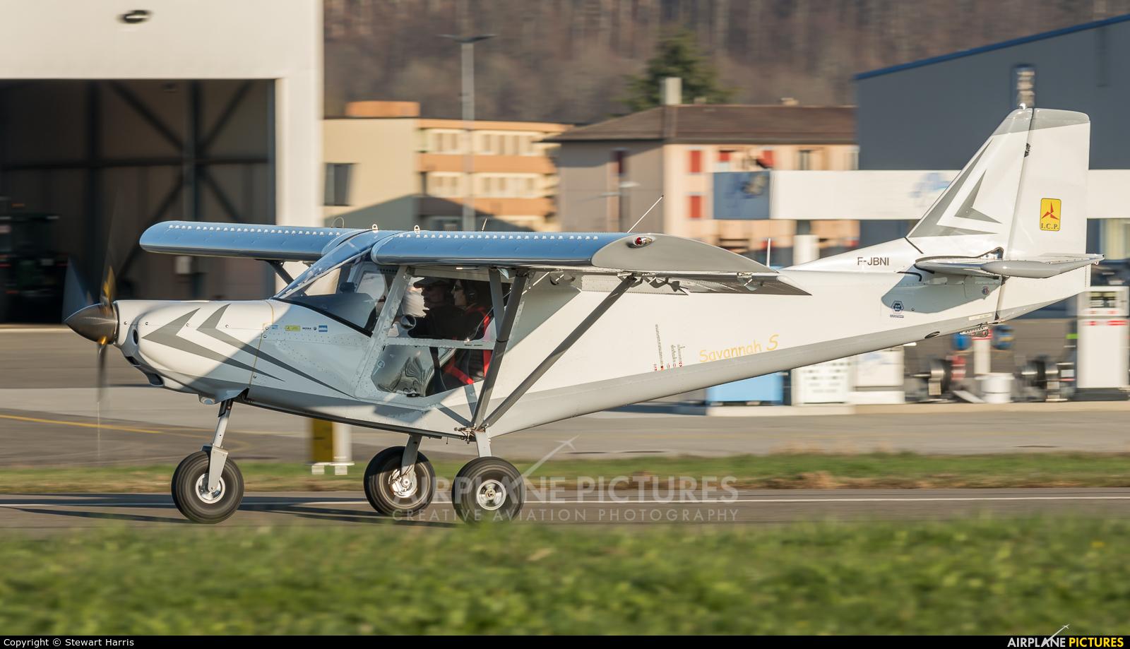 Private F-JBNI aircraft at Lausanne - La Blécherette