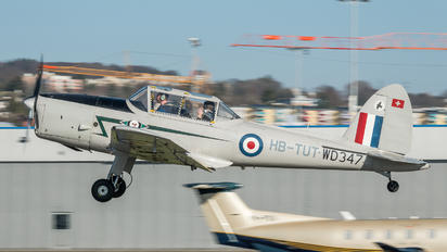 HB-TUT - Private de Havilland Canada DHC-1 Chipmunk