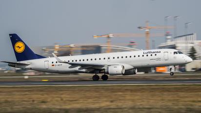 D-AECF - Lufthansa Regional - CityLine Embraer ERJ-190 (190-100)