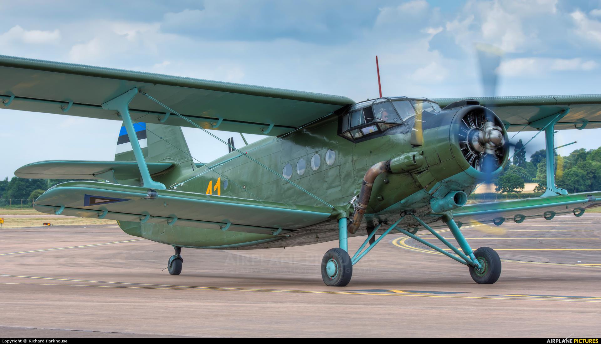 Estonia - Air Force 41 aircraft at Fairford