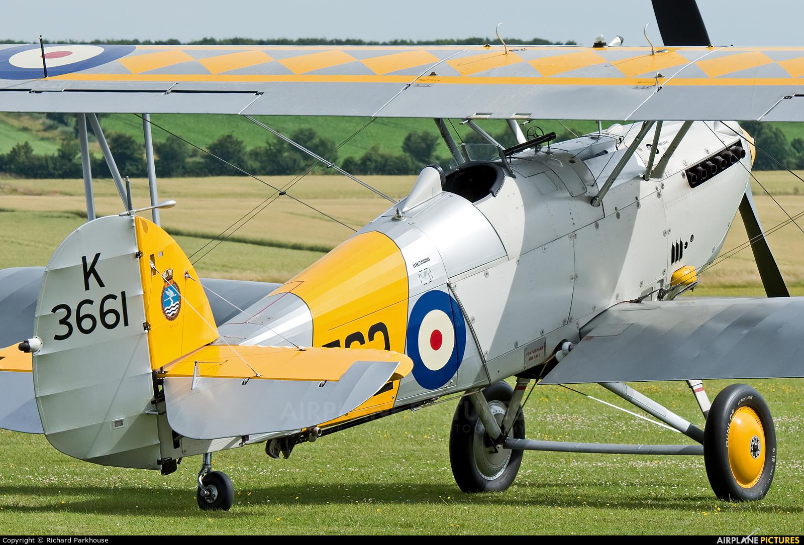 Historic Aircraft Collection G-BURZ aircraft at Duxford