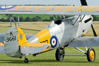 G-BURZ - Historic Aircraft Collection Hawker Nimrod II