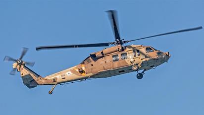814 - Israel - Defence Force Sikorsky S-70A-9 Yanshuf 3