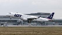 SP-LMA - LOT - Polish Airlines Embraer ERJ-190 (190-100) aircraft