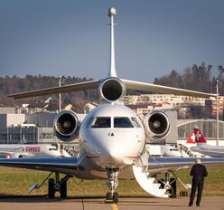 HB-JOB - Cat Aviation Dassault Falcon 7X