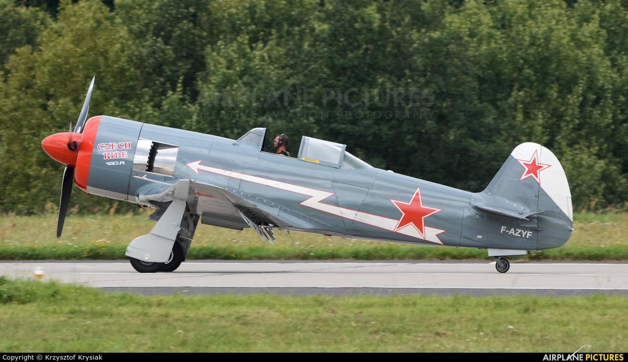 Private F-AZYF aircraft at Gdynia- Babie Doły (Oksywie)