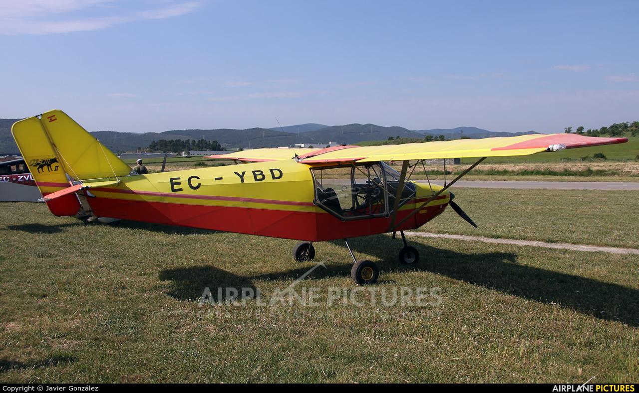 Private EC-YBD aircraft at Igualada - Odena