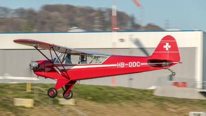 HB-ODC - Private Piper L-4 Cub