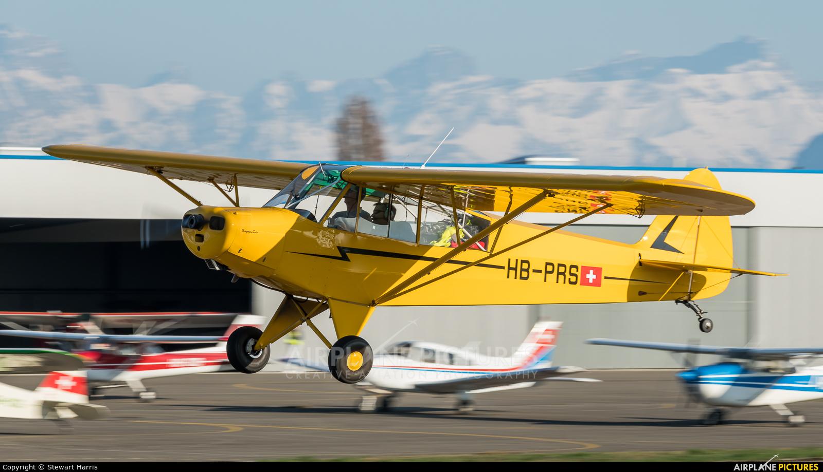 Private HB-PRS aircraft at Lausanne - La Blécherette