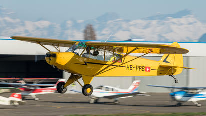 HB-PRS - Private Piper PA-18 Super Cub