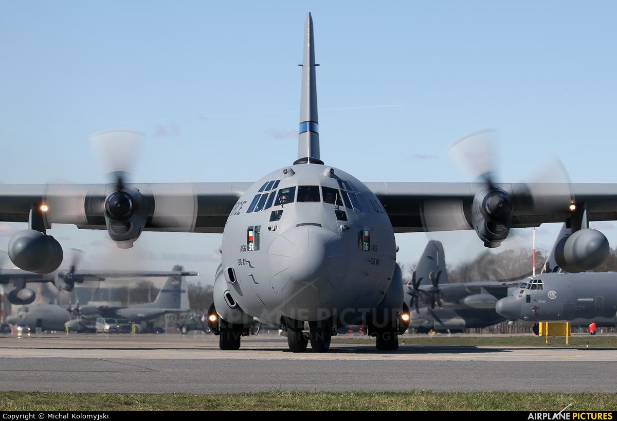 USA - Air Force 93-1456 aircraft at Powidz