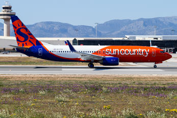 A6-FDQ - Sun Country Airlines Boeing 737-800
