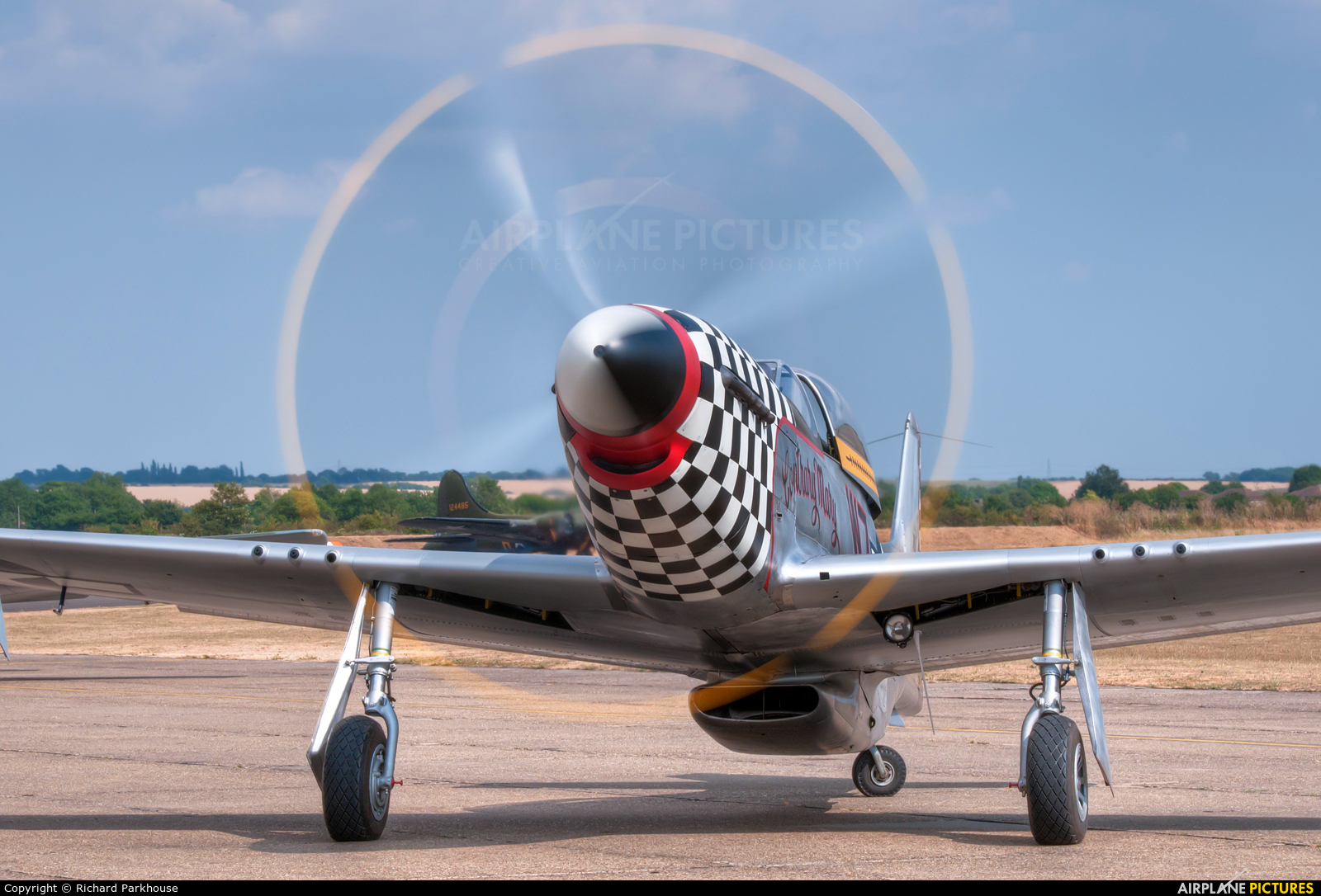 Anglia Aircraft Restorations Ltd G-TFSI aircraft at Duxford
