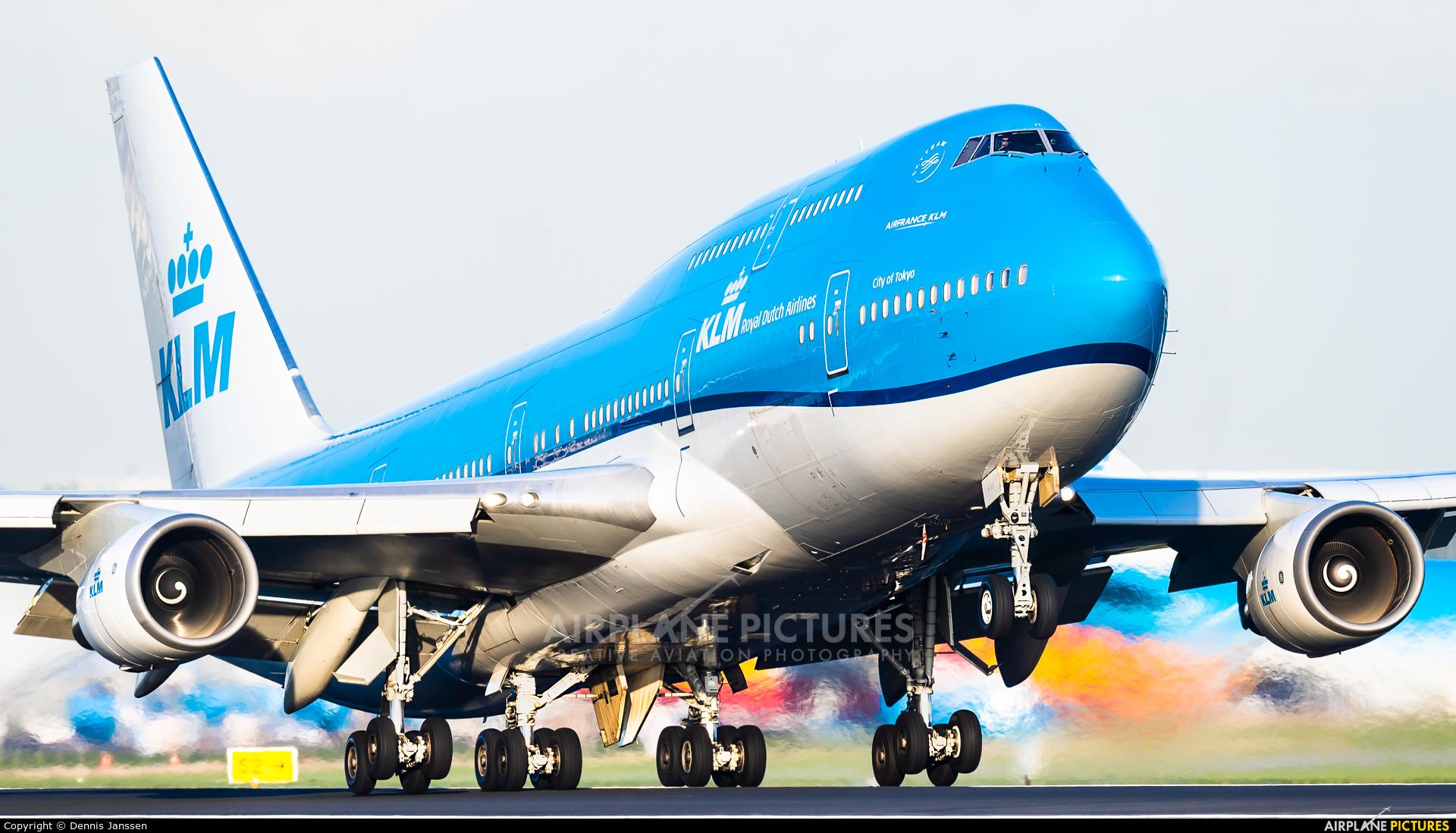 KLM PH-BFT aircraft at Amsterdam - Schiphol