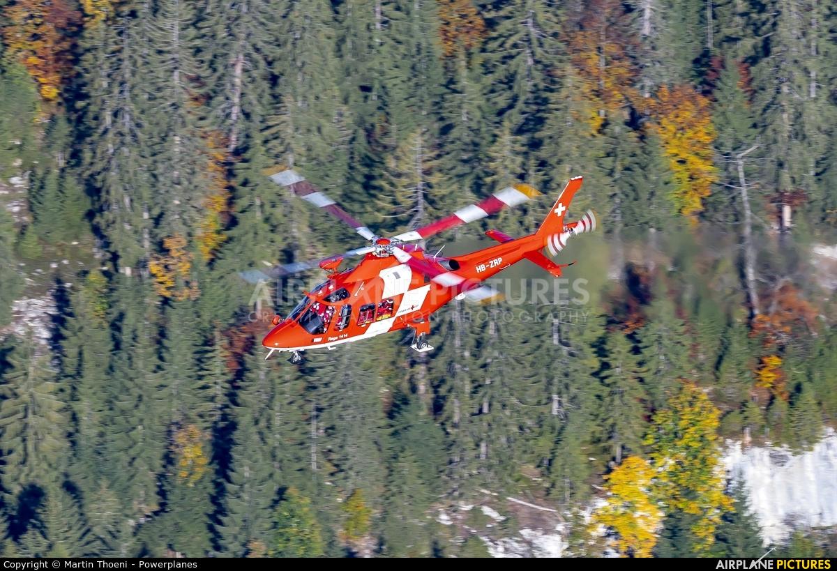 REGA Swiss Air Ambulance  HB-ZRP aircraft at Axalp - Ebenfluh Range
