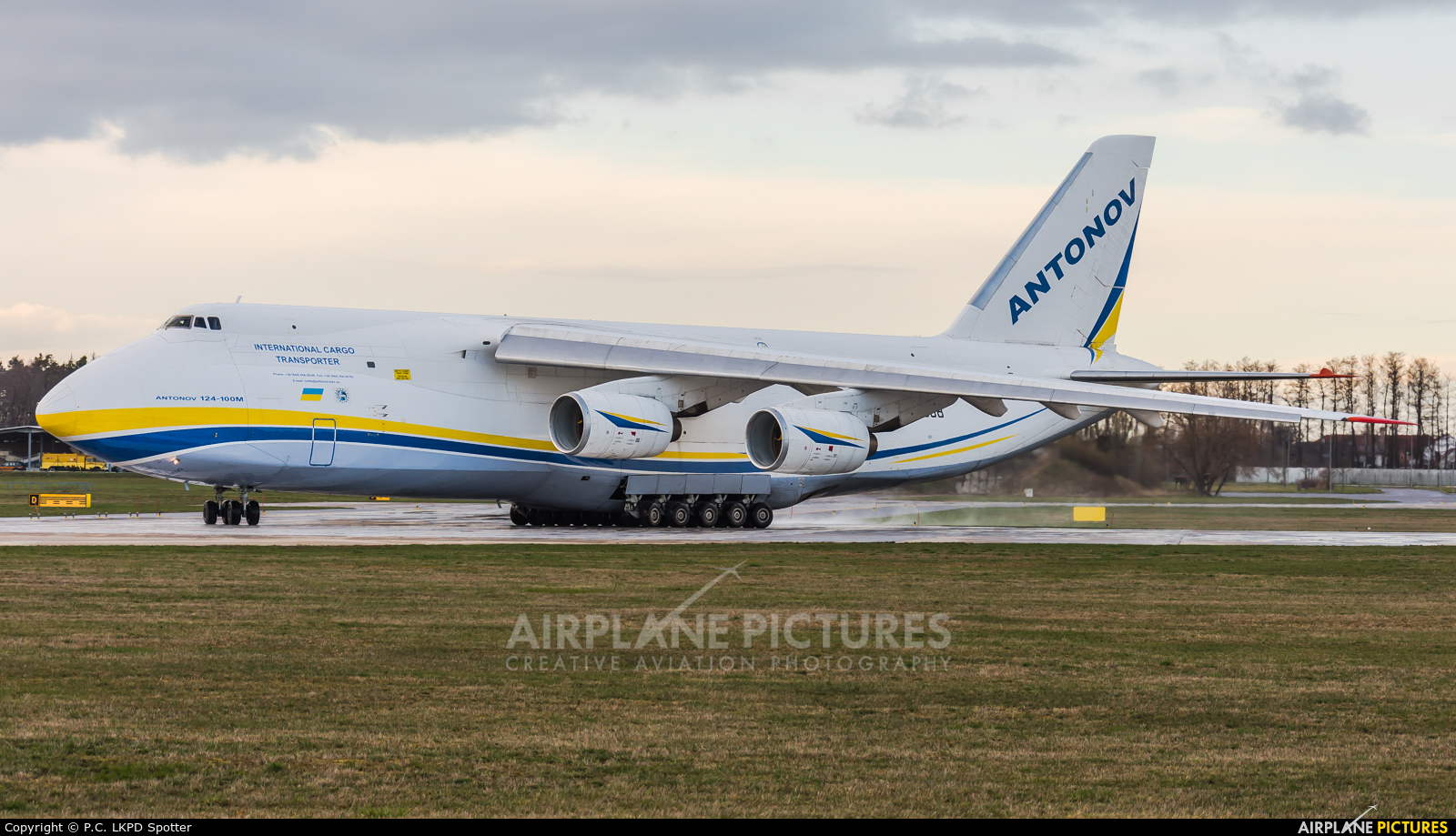 Antonov Airlines /  Design Bureau UR-82008 aircraft at Pardubice