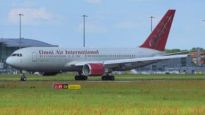 N225AX - Omni Air International Boeing 767-200ER