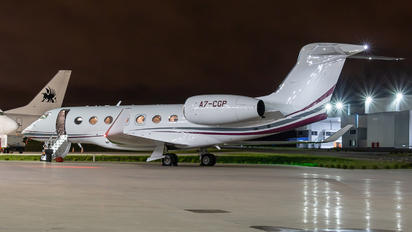A7-CGP - Qatar Executive Gulfstream Aerospace G VII-G500