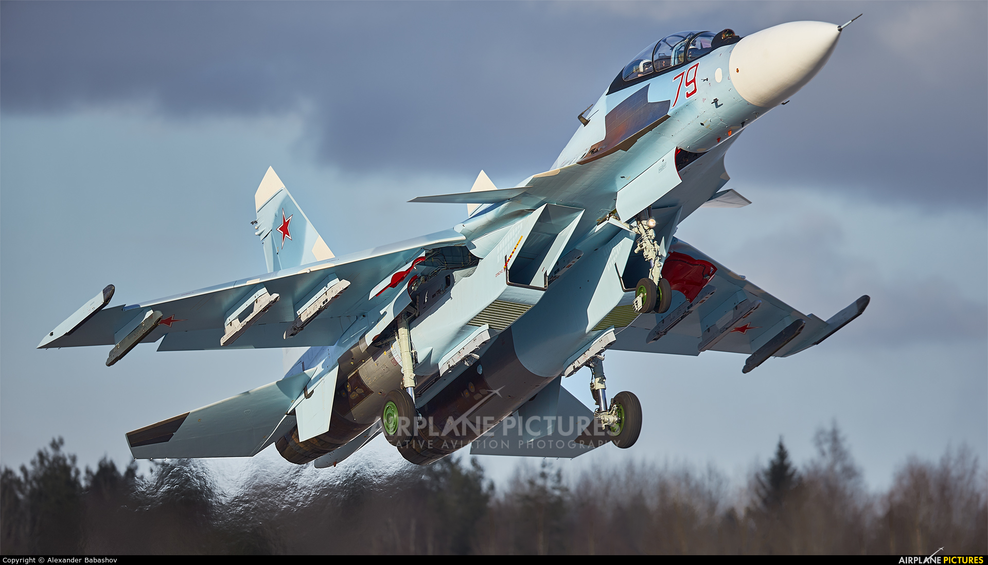 Russia - Air Force 79 aircraft at Undisclosed Location