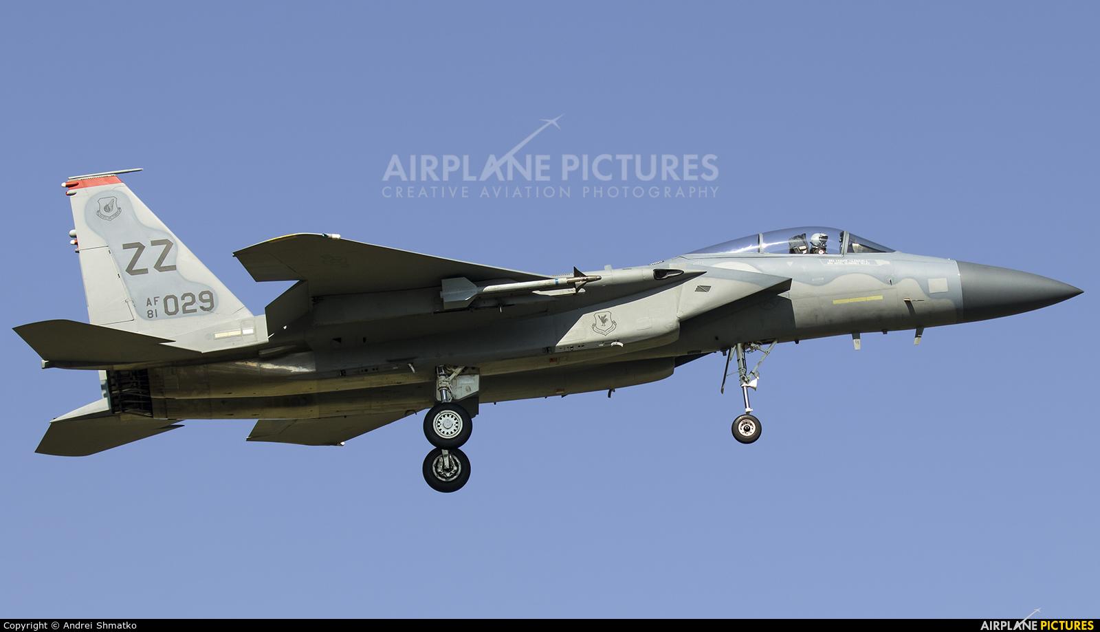 USA - Air Force 81-0029 aircraft at Kadena AB