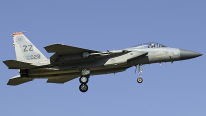 81-0029 - USA - Air Force McDonnell Douglas F-15C Eagle