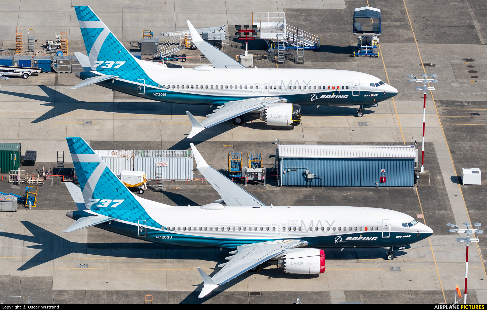 Boeing Company N7202U aircraft at Seattle - Boeing Field / King County Intl