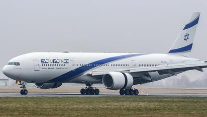 4X-ECA - El Al Israel Airlines Boeing 777-200